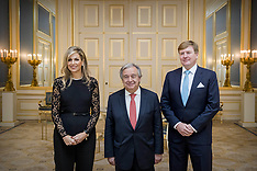 Dutch Royal Family attends Diner in Honor Of Antonio Guterres - 21 Dec 2017