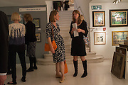 LUCY RUSSELL; TIFFANY PANTER; , 20/21 British Art Fair. Celebrating its 25 Anniversary. The Royal College of Art . Kensington Gore. London. 12 September 2012.