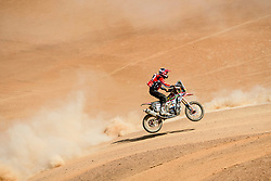 Daniel Nosiglia Jager (BOL) of MEC HRC Team races during stage 05 of Rally Dakar 2019 from Monquegua, to Arequipa, Peru on January 11, 2019 // Marcelo Maragni/Red Bull Content Pool // AP-1Y3JHSXY91W11 // Usage for editorial use only // Please go to www.redbullcontentpool.com for further information. //