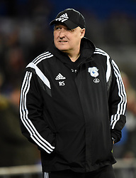 Cardiff City Manager Russell Slade - Mandatory by-line: Paul Knight/JMP - Mobile: 07966 386802 - 08/03/2016 -  FOOTBALL - Cardiff City Stadium - Cardiff, Wales -  Cardiff City v Leeds United - Sky Bet Championship