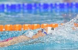 02-04-2015 NED: Swim Cup, Eindhoven<br /> Jenny Mensing GER, 200m rug<br /> Photo by Ronald Hoogendoorn / Sportida