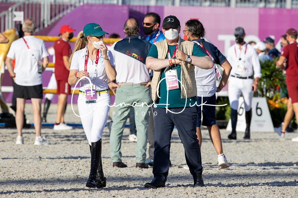 Tops-Alexander Edwina, AUS, Tops Jan, NED<br /> Olympic Games Tokyo 2021<br /> © Hippo Foto - Dirk Caremans<br /> 03/08/2021