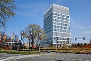 Hoofdkantoor Eurojust in Den Haag.   Eurojust headquarters in The Hague.