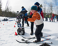 Gilford Nordic's Paintball Biathlon event.  (Karen Bobotas Photographer)