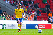 Patrick Bauer of Charlton Athletic (5) passes the ball during the EFL Sky Bet League 1 play off first leg match between Doncaster Rovers and Charlton Athletic at the Keepmoat Stadium, Doncaster, England on 12 May 2019.