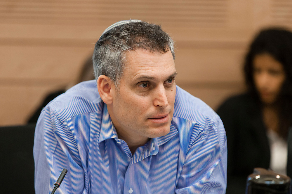 Deputy Attorney General Avi Licht attends a session of the Finance Committee at the Knesset, Israel's parliament in Jerusalem, on May 22, 2013.