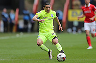 Anthony Knockaert of Brighton & Hove Albion in action. Skybet football league championship match, Charlton Athletic v Brighton & Hove Albion at The Valley  in London on Saturday 23rd April 2016.<br /> pic by John Patrick Fletcher, Andrew Orchard sports photography.