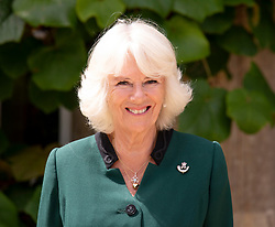 July 22, 2020, Highgrove, United Kingdom: Image Licensed to i-Images Picture Agency. 22/07/2020. Highgrove, United Kingdom. Camilla,The Duchess of Cornwall, becomes the Colonel-in-Chief of The Rifles at Highgrove House, United Kingdom. The ceremony  began at Windsor Castle with The Duke of Edinburgh handing over after  67 years service to The Rifles. (Credit Image: © Pool/i-Images via ZUMA Press)