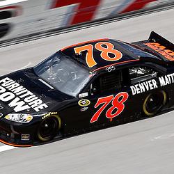 April 16, 2011; Talladega, AL, USA; NASCAR Sprint Cup Series driver Regan Smith (78) during qualifying for the Aarons 499 at Talladega Superspeedway.   Mandatory Credit: Derick E. Hingle