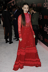 June 8, 2017 - New York, NY, USA - June 8, 2017  New York City..Lily Collins at the 'Okja' screening on June 8, 2017 in New York City. (Credit Image: © Kristin Callahan/Ace Pictures via ZUMA Press)