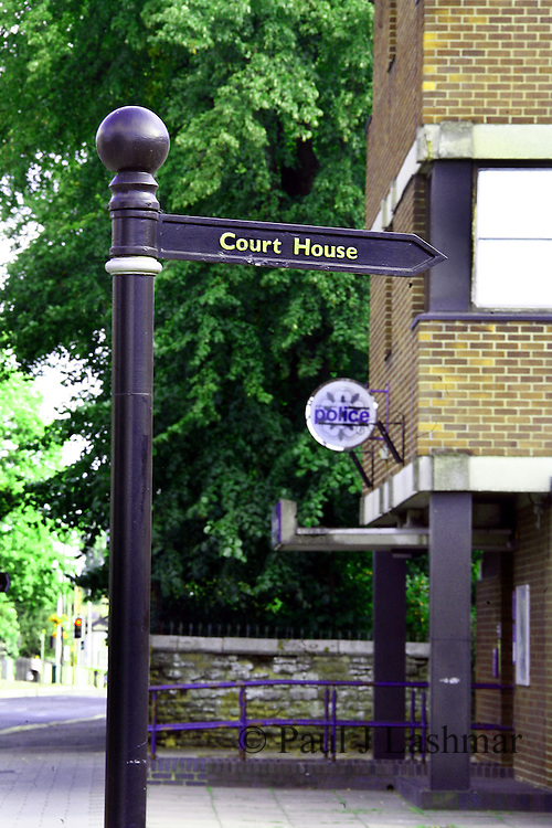 Kettering Magistrates Court in Kettering Town centre