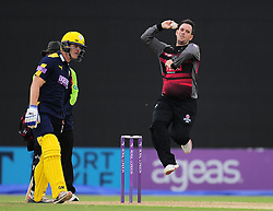 Jim Allenby of Somerset bowls.  - Mandatory by-line: Alex Davidson/JMP - 02/08/2016 - CRICKET - The Ageas Bowl - Southampton, United Kingdom - Hampshire v Somerset - Royal London One Day