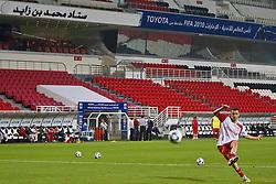 D'Alessandro,  do S.C. Internacional durante reconhecimento do gramado no Mohammed Bin Zayed Stadium. O Internacional participa de 8 a 18 de dezembro do Mundial de Clubes da FIFA, em Abu Dhabi. FOTO: Jefferson Bernardes/Preview.com