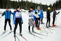 Saso Taljat,, Luka Bozic of Slovenian Kayak Canoe National Team at Winter training of Cross country and Biathlon, on January 7, 2015 in Rudno polje, Pokljuka, Slovenia.  Photo by Vid Ponikvar / Sportida