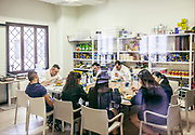 Milan, Bollate, InGalera Restaurant: lunch for the staff before the service