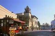 Old Plaza, El Pueblo de Los Angeles, Olivera Street, California (LA)