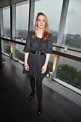 DAISY DE VILLENEUVE at the Montblanc de la Culture Arts Patronage Award 2009 held at the Tate Modern, Bankside, London SE1 on 16th April 2009.