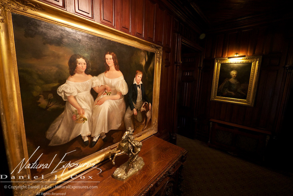 Pieces of the beautiful art work at the Ashford Castle, Ireland.