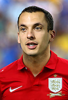 Football Fifa Brazil 2014 World Cup Matchs-Qualifier / Group H /<br /> San Marino vs England  0-8  ( Olympic Stadium - Serravalle , Republic of San Marino )<br /> Leon Osman of England ,  during the match between San Marino and England