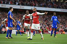 Arsenal v Leicester, 11 August 2017