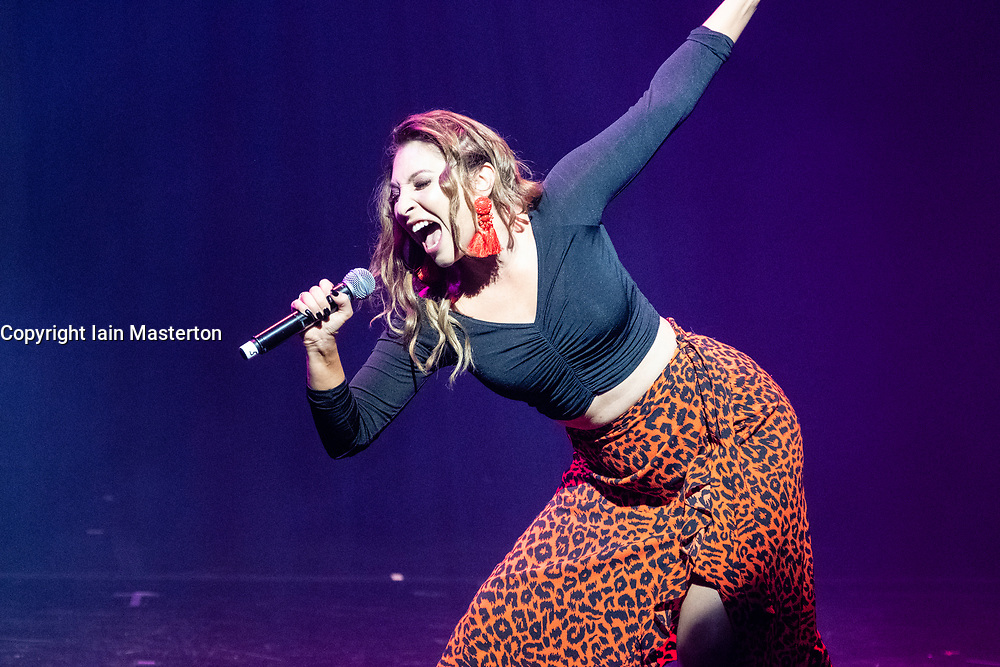 Edinburgh, Scotland, UK; 1 August, 2018. Cabaret acts from the  Assembly Gala Launch - Assembly's renowned opening night gala showcasing this year's programme highlights. Pictured; Jess Robinson – No Filter