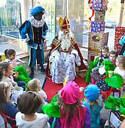 Nederland, Nijmegen, 4-12-2016Sinterklaas op bezoek in speeltuinTivoliFoto: Flip Franssen