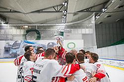 Winners of Slovenia Cup 2020/21 HDD SIJ Acroni Jesenice on 19.09.2020 in Ljubljana, Slovenia. Photo by Urban Meglič / Sportida