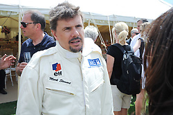 MARK STEWART at a luncheon hosted by Cartier for their sponsorship of the Style et Luxe part of the Goodwood Festival of Speed at Goodwood House, West Sussex on 4th July 2010.