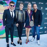 NLD/Amsterdam/20130903 - Filmpremiere Jobs , Victoria Koblenko, Carolien Spoor, John Karthaus
