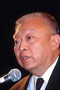 WASHINGTON, DC - September 11: Hong Kong Chief Exec. Tung Chee Hwa speaks at the U.S. Chamber of Commerce in Washington, DC. September 11, 1997  (Photo RIchard Ellis)