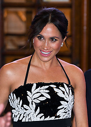 The Duke and Duchess of Sussex attending the Royal Variety Performance at The London Palladium. Photo credit should read: Doug Peters/EMPICS