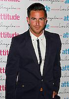 Aaron Renfree, Attitude Magazine's Hot 100 Summer Party, The Rumpus Room at the Mondrian Hotel, London UK, 20 July 2015, Photo by Brett D. Cove