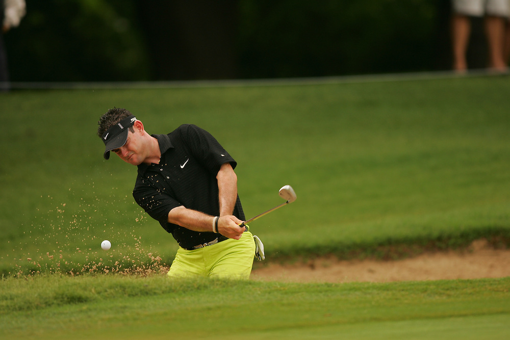 FORT WORTH, TX - MAY 26:  Rory Sabbatini competes during the third round of the 2007 Crowne Plaza Invitational At Colonial tournament in Fort Worth, Texas at Colonial Country Club on Saturday, May 26, 2007. (Photo by Darren Carroll/Getty Images) *** LOCAL CAPTION*** Rory Sabbatini