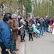 NLD/Huizen/20110326 - Herdenkingstocht nav 60 jaar Molukkers in Huizen