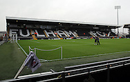 Craven Cottage during the Sky Bet Championship match between Fulham and Sheffield Wednesday at Craven Cottage, London, England on 2 January 2016. Photo by Matthew Redman.