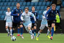 Jeppe Kjær (FC Helsingør) under træningskampen mellem FC Helsingør og HB Køge den 22. februar 2020 på Helsingør Ny Stadion (Foto: Claus Birch).