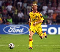 Photo: Chris Ratcliffe.<br /> PSV Eindhoven v Liverpool. UEFA Champions League, Group C. 12/09/2006.<br /> Dirk Kuijt of Liverpool.