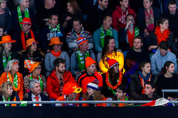 12-01-2019 NED: ISU European Short Track Championships 2019 day 2, Dordrecht<br /> Sfeer, Optisport Dordrecht, support, Orange