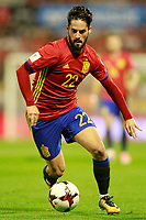 Spain's Isco Alarcon during FIFA World Cup 2018 Qualifying Round match. October 6,2017.(ALTERPHOTOS/Acero)