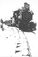 RGS 2-8-0 #12 with a freight train.<br /> RGS