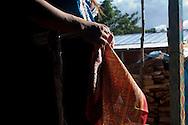 The famous zapatista shawl.<br /> El famoso paliacate zapatista.