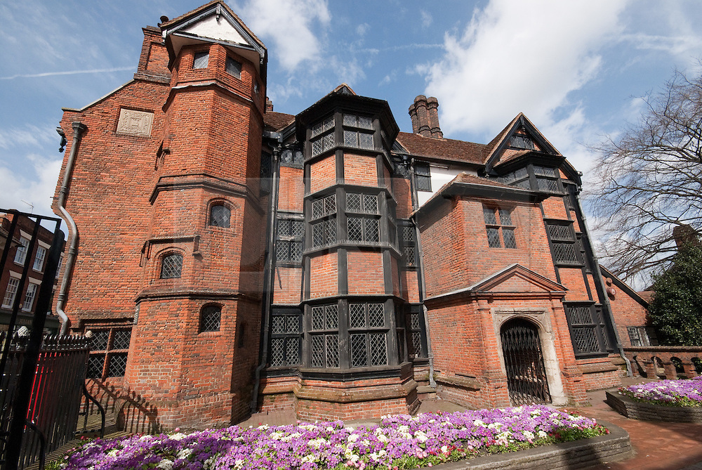 © London News Pictures. 07/02/2012.  Eastgate House in Rochester, Kent features as Westgate in Dickens' novel, Pickwick Papers and as the Nun's House in The Mystery of Edwin Drood. Today celebrates the 200th birthday of Charles Dickens. Picture credit should read Manu Palomeque/LNP