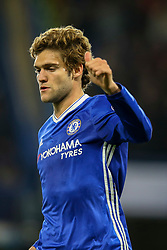 Marcos Alonso of Chelsea signals a thumbs up - Mandatory by-line: Jason Brown/JMP - 08/05/17 - FOOTBALL - Stamford Bridge - London, England - Chelsea v Middlesbrough - Premier League