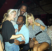 **EXCLUSIVE**.Maria Sharapova celebrating her US Open Championship victory with Unik and Artist Jeffery Dread at PM Lounge.Saturday, September 09, 2006 . New York, NY, USA.Photo By Selma Fonseca/ Celebrityvibe.com.To license this image call (212) 410 5354 or;.Email: celebrityvibe@gmail.com; .Website: http://www.celebrityvibe.com/. ...