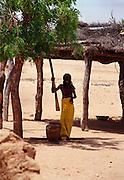 Housework in Podor Senegal