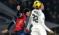 Miguel Britos (Bologna) e Alessandro Matri (Juventus) <br /> Juventus Bologna 0-2 - Campionato di calcio  Serie A Tim  2010-2011<br /> Stadio Olimpico, Milano, 26/02/2011<br /> © Insidefoto