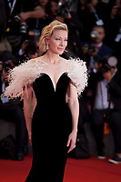 Cate Blanchett at the premiere gala screening of the film A Star is Born at the 75th Venice Film Festival, Sala Grande on Friday 31st August 2018, Venice Lido, Italy.
