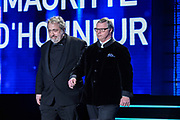 Brussels , 01/02/2020 : Les Magritte du Cinema . The Academie Andre Delvaux and the RTBF, producer and TV channel , present the 10th Ceremony of the Magritte Awards at the Square in Brussels .<br /> Pix: Pascal Duquenne , dressed by Maison Degand; Jaco Van Dormael , dressed by Cambre Tailoring<br /> Credit : Alexis Haulot - Dana Le Lardic - Didier Bauwerarts - Frédéric Sierakowski - Olivier Polet / Isopix