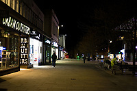 southampton is almost empty on the  first saturday night since the clubs puts restaurants and cinemas have been closed to help stop the spread  of the coronavirus Photo michael palmer