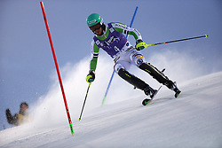 17.11.2013, Levi Black, Levi, FIN, FIS Ski Alpin Weltcup, Levi, Slalom, Herren, 1. Durchgang, im Bild Felix Neureuther (GER) // Felix Neureuther of Germany in action during 1st run of mens Slalom of FIS ski alpine world cup at the Levi Black course in Levi, Finland on 2013/11/17. EXPA Pictures © 2013, PhotoCredit: EXPA/ Gunn/ Takusagawa<br /> <br /> *****ATTENTION - OUT of GBR*****